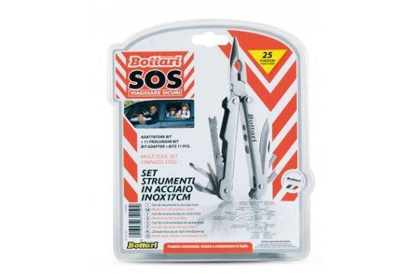 Večnamenski nož (zložljiv), Bottari 35150