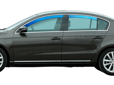 Ventilacioni branik Mercedes-Benz Razred C (W202) 93-00, kombi, 5V, sprijeda + straga