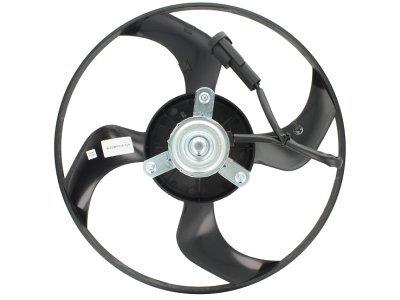 Ventilator bez kućišta 571023U1 - Peugeot 307 00-08, 335 mm