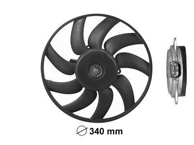 Ventilator bez kučišta Audi A5 07, 340mm