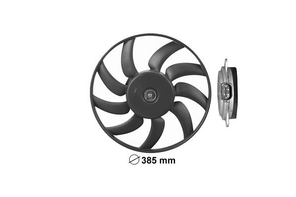 Ventilator bez kučišta Audi A5 07, 385mm