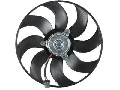 Ventilator bez okvira 320223U2-2 - Volvo C30 06-13, 385 mm