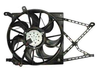 Ventilator hladanjaka 550823W6 - Opel Zafira A 99-05