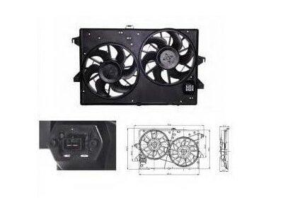 Ventilator hladilnika 321823W3 - Ford Mondeo 00-07