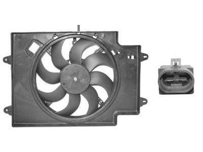 Ventilator hladilnika Alfa Romeo 147 00-, 1.9 JTD, 380mm