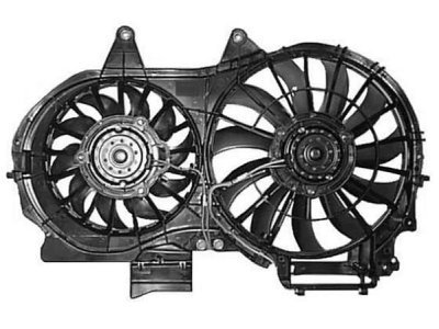 Ventilator hladilnika Audi A4 00-04