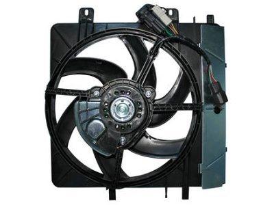 Ventilator hladilnika Citroen C2 03-09 (380mm)