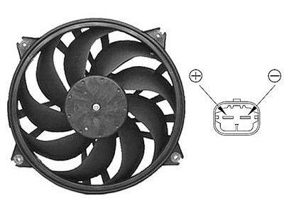 Ventilator hladilnika Citroen C5 05- (500W)