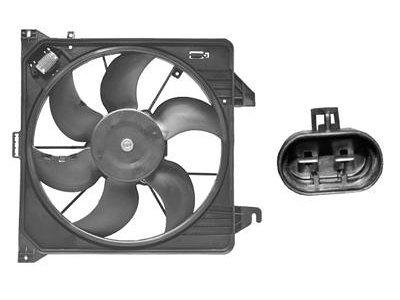 Ventilator hladilnika Ford Transit/Tourneo/Connect -06