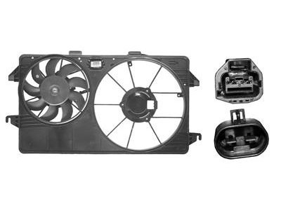 Ventilator hladilnika Ford Transit/Tourneo/Connect -06 (1.8 D)