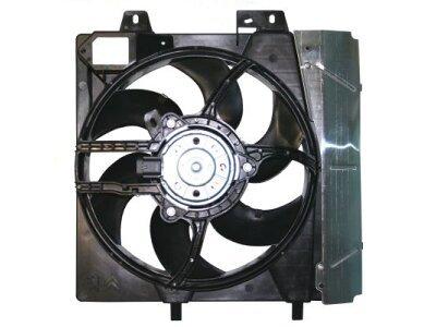 Ventilator hladnjaka 231623W3 - CITROEN C3, 10-
