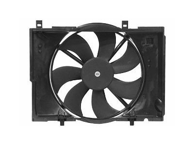 Ventilator hladnjaka 500223W4 - Mercedes Razred C 97-00
