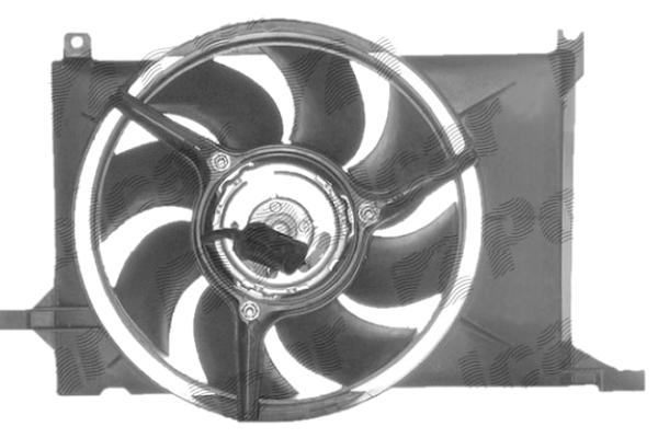 Ventilator hladnjaka 555523W2 - Opel Combo (B) 94-01