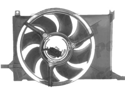 Ventilator hladnjaka 555523W2-Q - Opel Tigra 1.4 16V 94-00