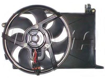 Ventilator hladnjaka 555523W3 - Opel Combo 1.7 D 94-01
