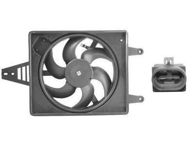 Ventilator hladnjaka Alfa 156 -03 1.6, 1.8, 2.0 340mm