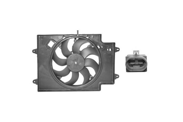 Ventilator hladnjaka Alfa Romeo 147 00- 1.9 JTD 380mm