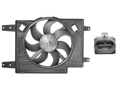Ventilator hladnjaka Alfa Romeo 156 -03 1.6, 1.8, 2.0 380mm