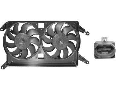Ventilator hladnjaka Alfa Romeo 156 -03 1.9 JTD / 2.4 JTD 275mm