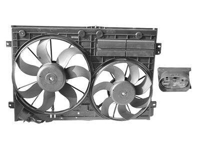 Ventilator hladnjaka Audi A3 03- 2.0 TDi (680x420)