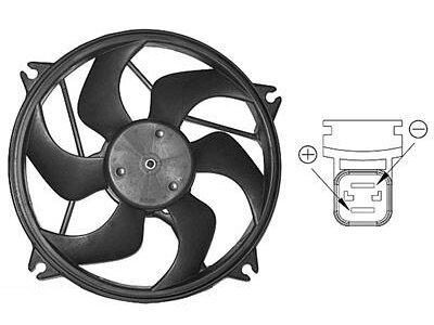 Ventilator hladnjaka Citroen Berlingo 02-08 (460W)