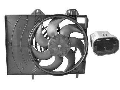 Ventilator hladnjaka Citroen C3 06- (380mm)