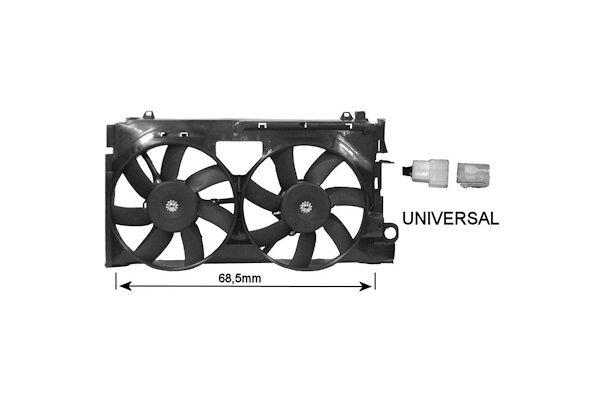Ventilator hladnjaka Citroen Xsara 97-00 za klimu