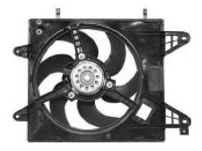 Ventilator hladnjaka Fiat Bravo/Brava 95- za klimu
