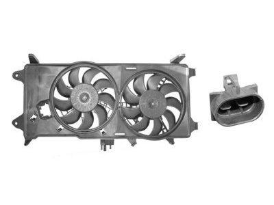Ventilator hladnjaka Fiat Doblo 00- diesel AC+ 1.9JTD
