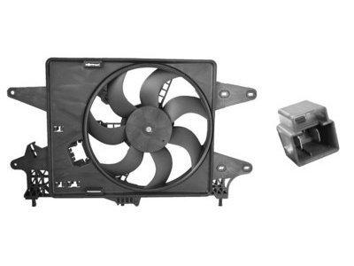 Ventilator hladnjaka Fiat Doblo 05- diesel AC-