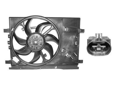 Ventilator hladnjaka Fiat Grande Punto 06- za klimu