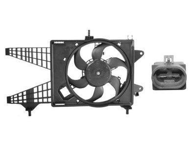 Ventilator hladnjaka Fiat Punto 00-03 (1,8 / 1,9 JTD)