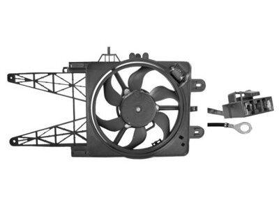 Ventilator hladnjaka Fiat Punto 00-03 za klimu + regulator