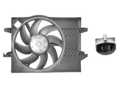 Ventilator hladnjaka Ford Fiesta 02-05 za klimu