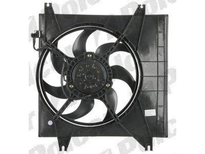 Ventilator hladnjaka Hyundai Getz 02, bez klime