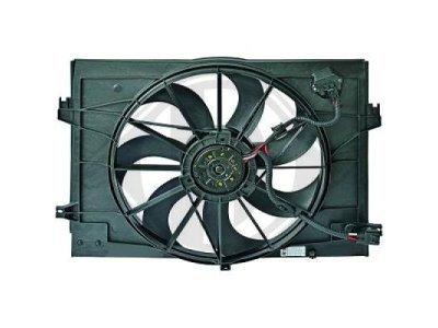 Ventilator hladnjaka HYUNDAI tucson (JM), OEM, dizel, 04-10
