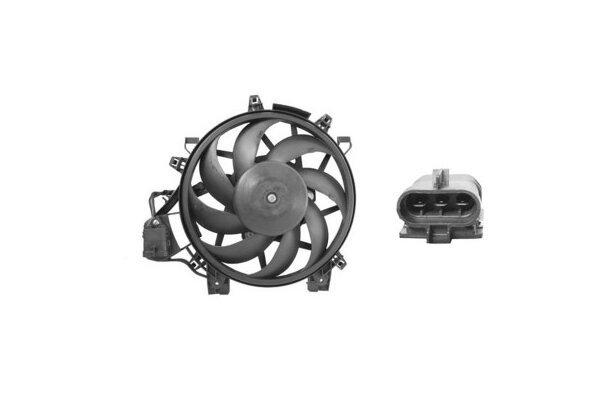 Ventilator hladnjaka Opel Corsa 00-06 za klimu