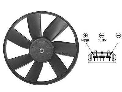 Ventilator hladnjaka Seat Ibiza/Cordoba 93-99