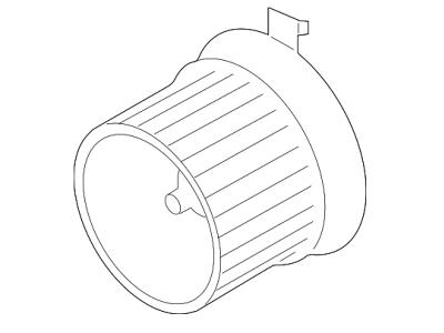 Ventilator kabine 27L1NU-1 - Nissan Micra 10-