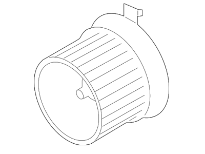 Ventilator kabine 27U1NU-1 - Nissan Leaf 10-