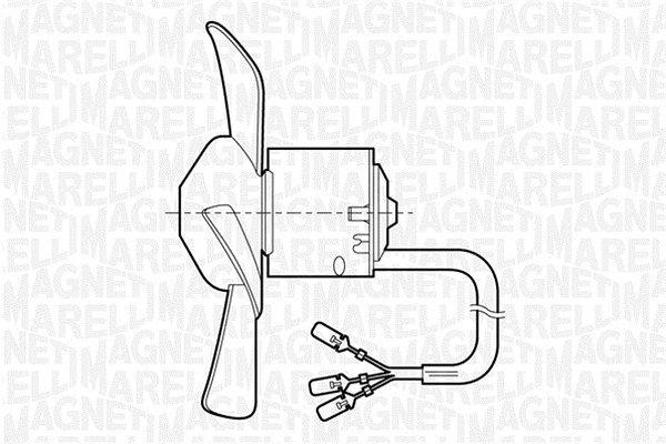 Ventilator kabine Fiat Uno 83-96 2 brzine vrtanja