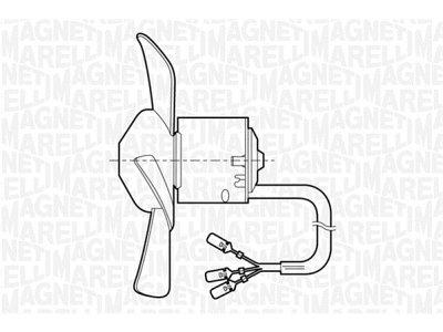 Ventilator kabine Fiat Uno 83-96 2 brzine vrtnje