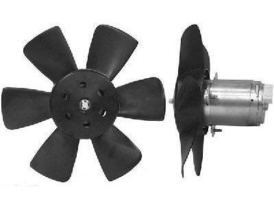 Ventilator Ohne Gehäuse Audi 80 86-91 1.4-1.6D 250/120W