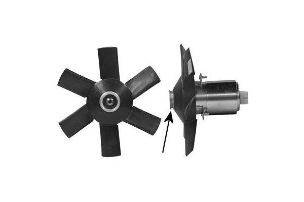 Ventilator Ohne Gehäuse Audi 80 86-91 1.4-1.6D 250/150W 3pin