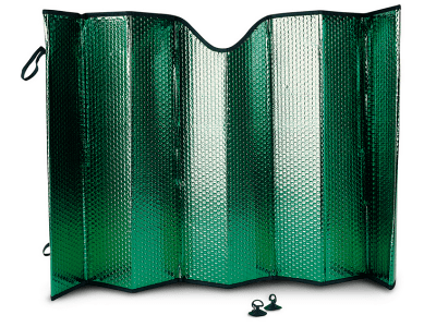 Vetrobranska zaštita od sunca, 60 x 130 cm, Protex Premium, zelena