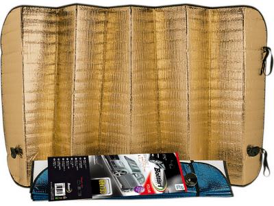 Vetrobransko senčilo, 65 x 130 cm, Polar, zlata