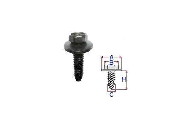 Vijak RXC60619 Citroen Xsara 97-04