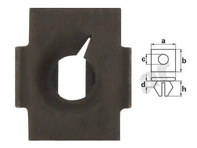 Vijak za matice RX16305 , 10 komada