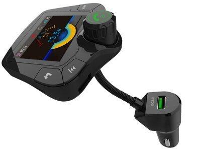 Višenamjenski FM odašiljač i punjač  5.0, AUX, MP3, Premium