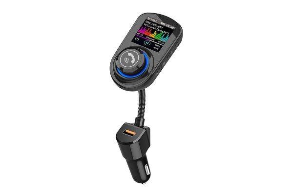 Višenamjenski FM odašiljač  i punjač  sa USB, MP3/WMA i Bluetooth 5.0